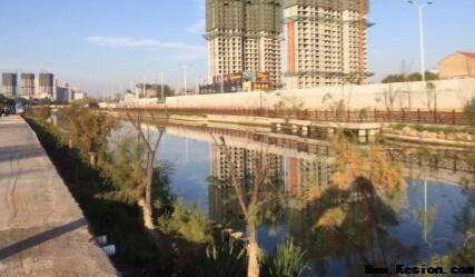 长治三河一渠项目施工现场